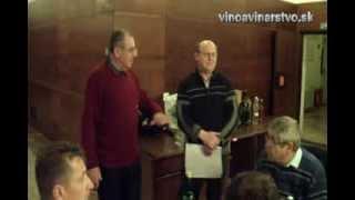 Praktické posúdenie vín ročnka 2013