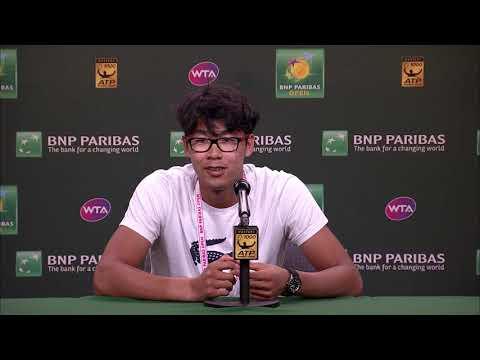 BNP Paribas Open 2018: Hyeon Chung 4R Press Conference