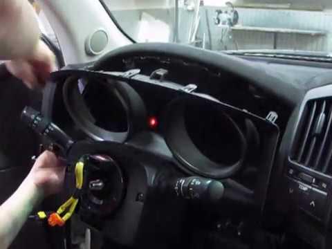 Демонтаж торпедо(панель приборов) Toyota Land Cruiser 200 (LC200)