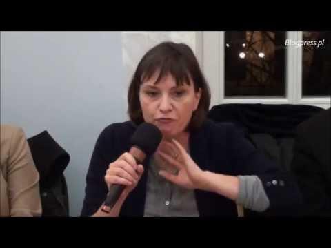 Ewa Stankiewicz i Grzegorz Braun na powyborczym przeglądzie tygodnia w Klubie Ronina (24.11.2014)