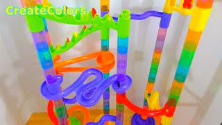 getlinkyoutube.com-Deluxe  Marble Race imaginarium DISCOVERY by CreateColors