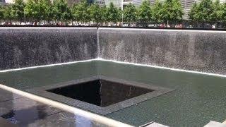 getlinkyoutube.com-Ground Zero 911 Memorial And One World Trade Center Building In New York