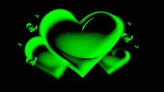 """the green heart animation - """"free Chroma Key Effects"""""""