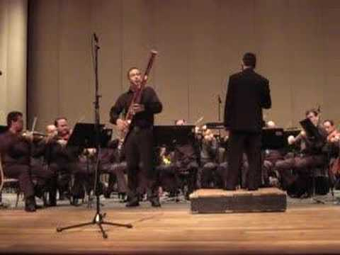 Mozart Concerto for Bassoon Mvmt. 1 - Saxton Rose