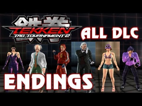 Tekken Tag Tournament 2 - 'All DLC Character Endings' TRUE-HD QUALITY