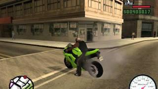 getlinkyoutube.com-Gta San Andreas:Kawasaki Ninja