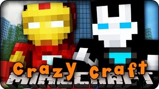 getlinkyoutube.com-Minecraft Mods - CRAZY CRAFT 2.0 - Ep # 129 IRON MAN!' (Superhero / Orespawn Mod)