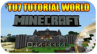 getlinkyoutube.com-★Minecraft Xbox 360/PS3 Re-Visiting Old Update Title Update 7 FIRST Ever Enchantments Old Tutorial★
