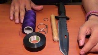 getlinkyoutube.com-Como hacer un kubotan o  yawara casero y como usarlo / Donde golpear con un kubotan