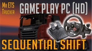 getlinkyoutube.com-Euro Truck Simulator 2 Gameplay - Logitech Driving Froce GT - sequential driving