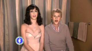 getlinkyoutube.com-Katy Perry singing I kissed a girl ft. Ellen Degeneres