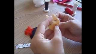 getlinkyoutube.com-Cómo hacer nosotras mismas unos broches muy originales