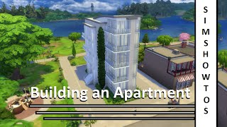 getlinkyoutube.com-The Sims 4 - Apartment Building - SimsHowtos