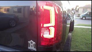 getlinkyoutube.com-2008 Chevy Silverado LED C Streak tail light