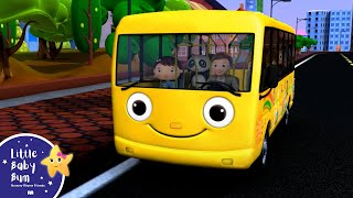 Wheels On The Bus | Part 1 | Nursery Rhymes | from LittleBabyBum!