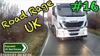 getlinkyoutube.com-UK Bad Drivers, Road Rage, Crash Compilation #16 [2015]