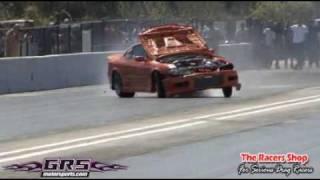 Nissan Silvia Twin Turbo Blown Engine wkowkowk lol
