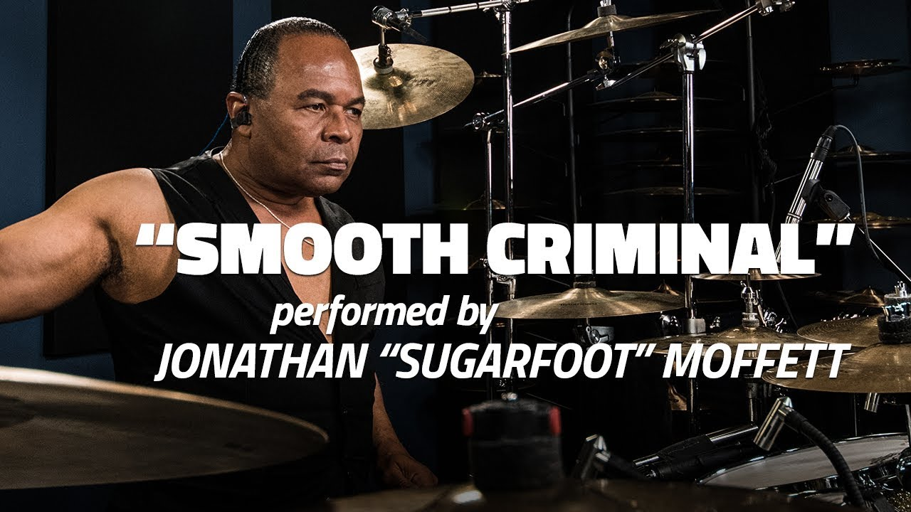 "Jonathan Moffett Performs ""Smooth Criminal"""