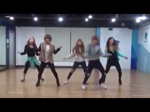 4minute - What's Your Name? mirrored Dance Practice