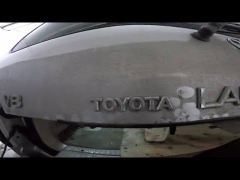 Toyota Land Cruiser 100  disassembly door ( разборка двери )