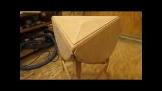 Drop Leaf Cherry Table   Hinges and Drop Leaf Miter Step 6