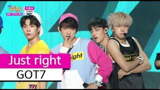 getlinkyoutube.com-[HOT] GOT7 - Just right, 갓세븐 - 딱 좋아 Show Music core 20150815