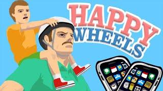 getlinkyoutube.com-Happy Wheels - Кишки и Кровища (iOS)