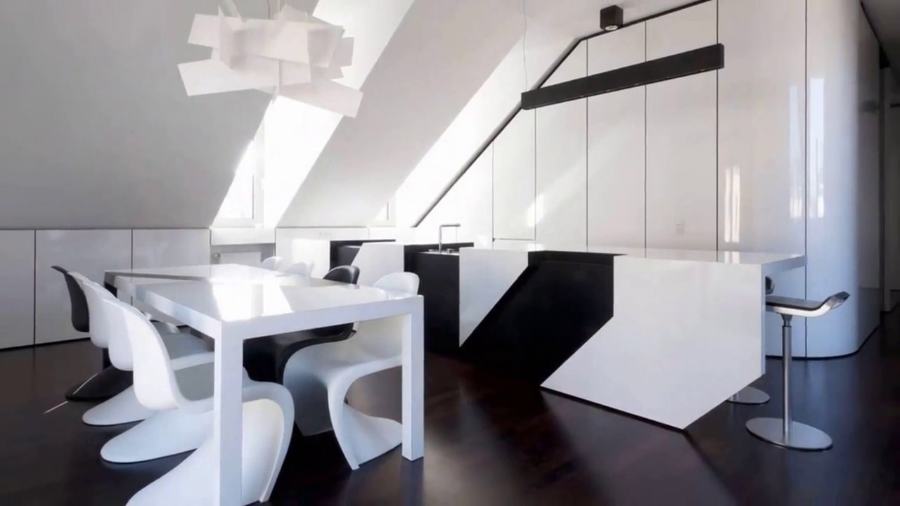 Black and White Dining Room 30 Inspirational examples