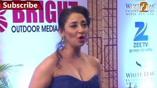 Shruti Ulfat at Zee Gold Awards 2015 Red Carpet