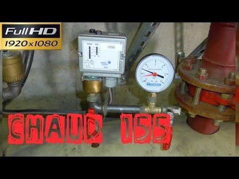 Chaud155-Le rajout d'un pressostat manque d'eau dans une chaufferie-retour expérience