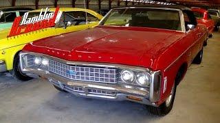 1969 Chevrolet Impala Convertible  350 V8