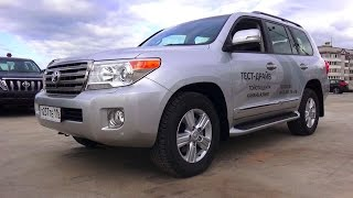 getlinkyoutube.com-2015 Toyota Land Cruiser 200. Start Up, Engine, and In Depth Tour.