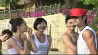 2PM&SNSD Caribbean Bay Making Film