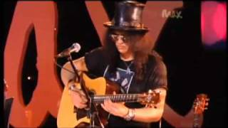 getlinkyoutube.com-Sweet Child O' Mine - Rare Acoustic - Slash & Myles Kennedy - Live Max Sessions 2010 HQ