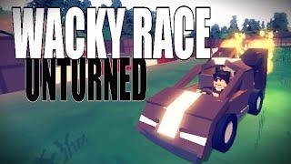 getlinkyoutube.com-Wacky Race - 10 Min Car Build Challenge! - Unturned 3.14.1.0
