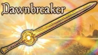 getlinkyoutube.com-Skyrim SE - Dawnbreaker - Weapon Guide
