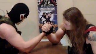 getlinkyoutube.com-Thor vs Bane Armwrestle