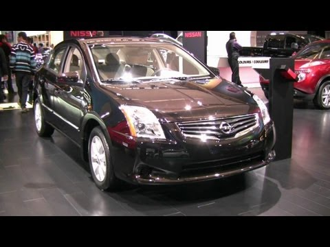 2012 Nissan Sentra Exterior And Interior At 2012 Montreal Auto Show