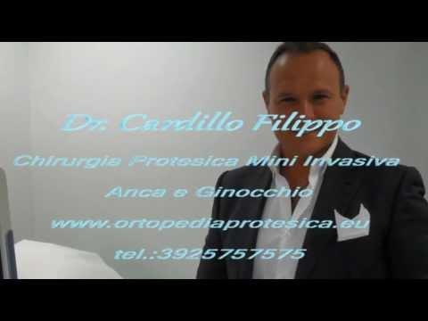 Doppia Mini Protesi ginocchio Dx e Sx e subito in bici, Dott Cardillo Filippo