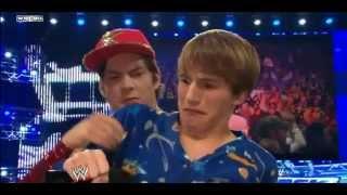getlinkyoutube.com-John Cena And Fred Figglehorn vs Mr. Devlin And Kevin[Fred 2]