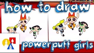 getlinkyoutube.com-How To Draw The Powerpuff Girls