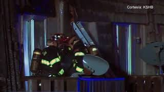 Un incendio dejó como saldo 2 niños muertos y 7 adultos heridos