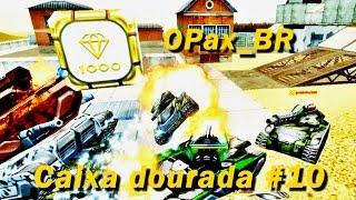Caixa dourada #10 - OPax_BR (Tanki Online Brasil)