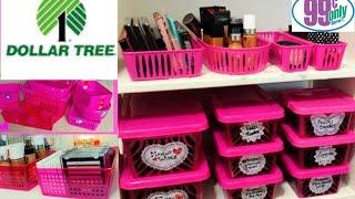 getlinkyoutube.com-$1 Makeup Organization & Storage Ideas   Dollar Tree & 99 Cents Only