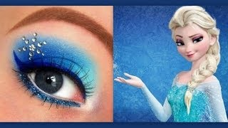 getlinkyoutube.com-Disney's Frozen: Elsa makeup tutorial