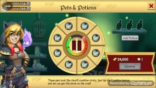 getlinkyoutube.com-Knights and Dragons PETS Fusion + Enhancing 1.2K Pets!!!