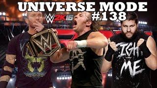 getlinkyoutube.com-WWE 2K16 UNIVERSE MODE #138| PRESSÃO EM CIMA DO CAMPEÃO !