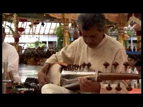 Sarod recital - Pandit Narendra Nath Dhar at Prashanti Nilayam - 24 April 2013
