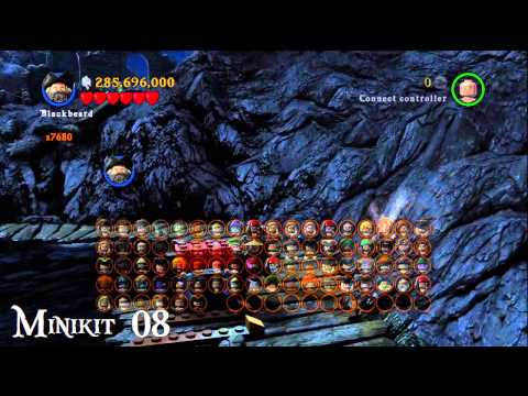 100% Collection Guide: Isle De Muerta (1-5) --- LEGO Pirates of the Caribbean --- Minikits