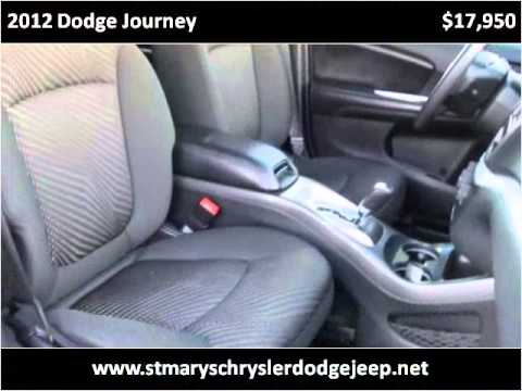 2012 Dodge Journey Used Cars Saint Marys OH